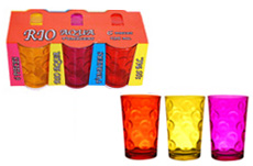 Coffret 6 verres RIO Fashion