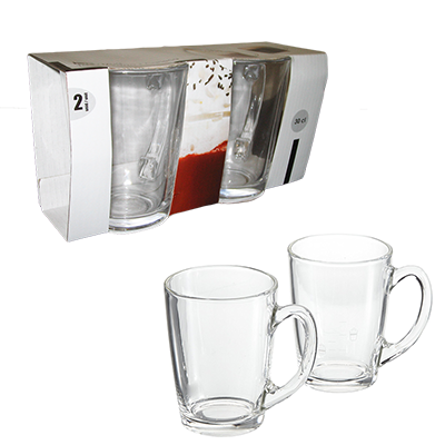SET 2 TASSES A CAFE 30CL