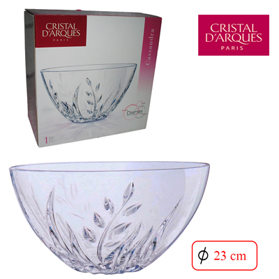 COUPE A FRUIT 23 CM CASSANDRA CRYSTAL