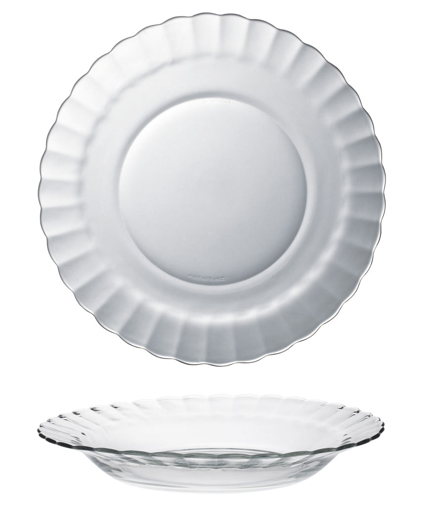 ASSIETTE PLATE BEAURIVAGE 23.5CM
