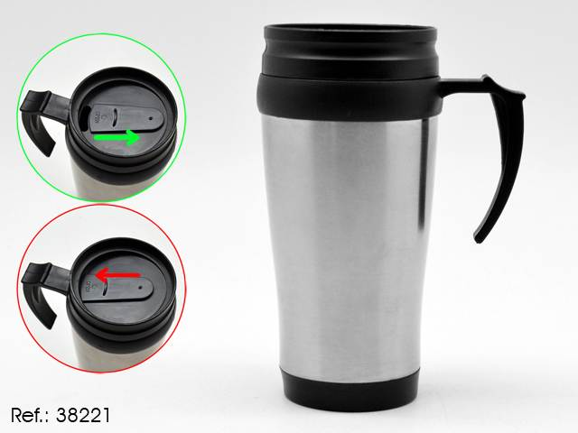 THERMOS INDIVIDUEL CHROME